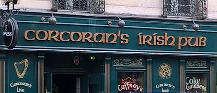 Corcoran's Clichy - billard Paris