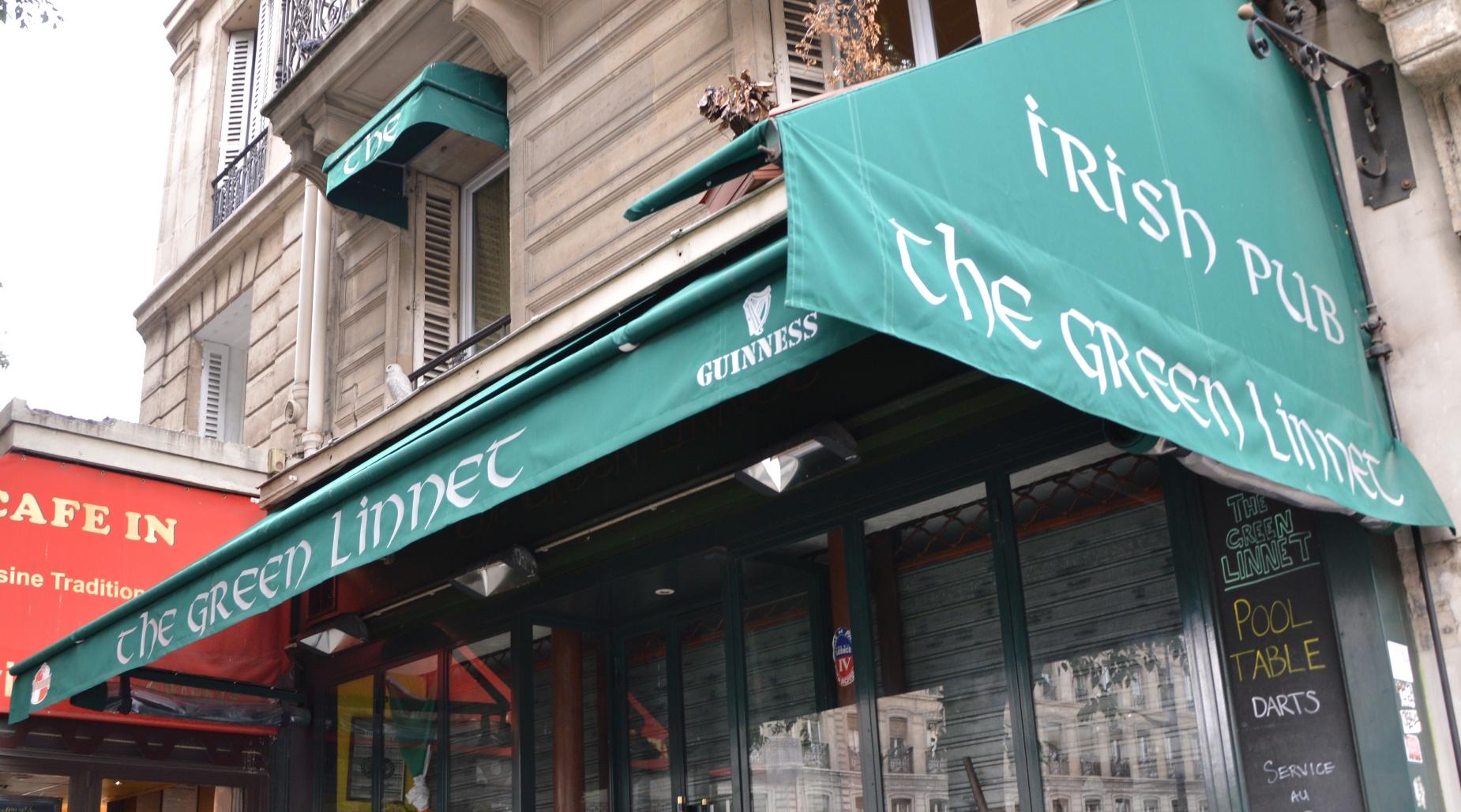 Green Linnet - Billard Paris