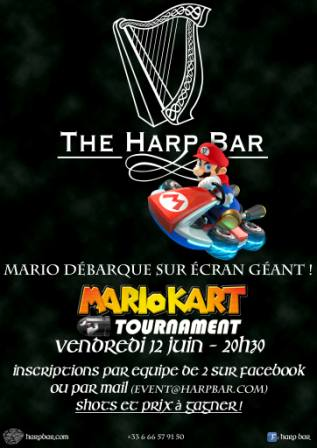 Mario Kart et Billard à Paris