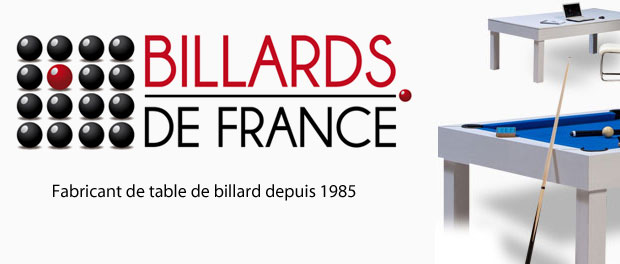 Billard Paris - Logo billard de france